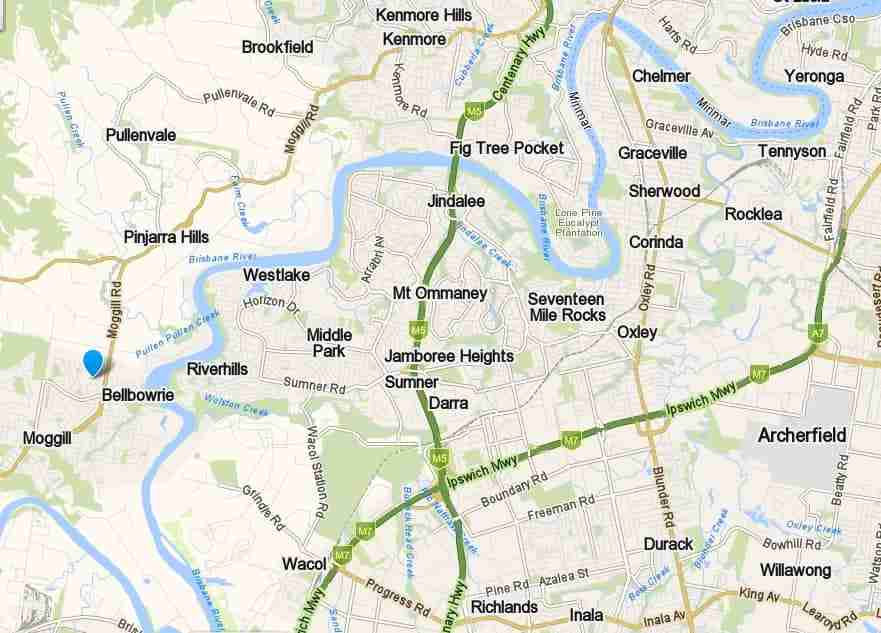 western suburbs brisbane service areas